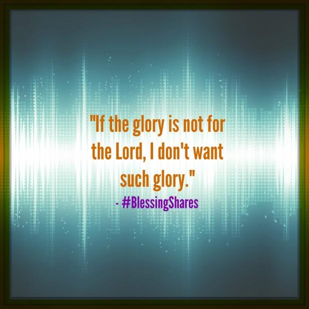 glorying