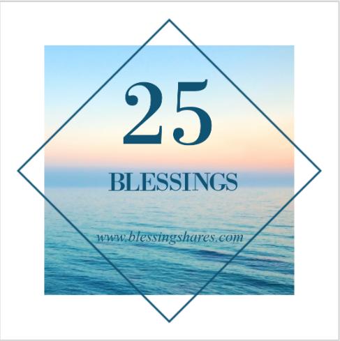 25 Blessings